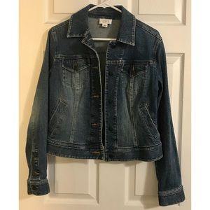 Ann Taylor Loft Classic Denim Jacket